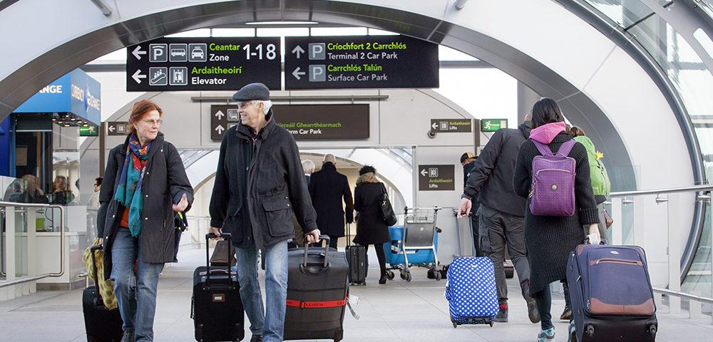 Dublin Airport slimme vuilnisbakken IoT