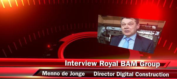 Menno de Jonge, Royal BAM