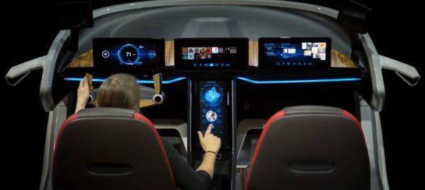 Bosch concept IoT car
