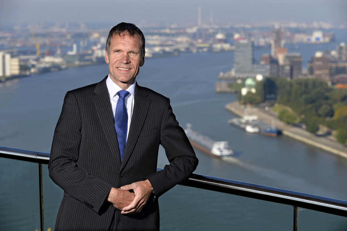 Paul Smits, CFO Port of Rotterdam (foto door Ernst Bode).