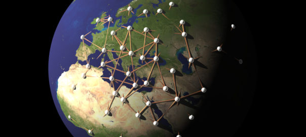 Global network - by fdecomite