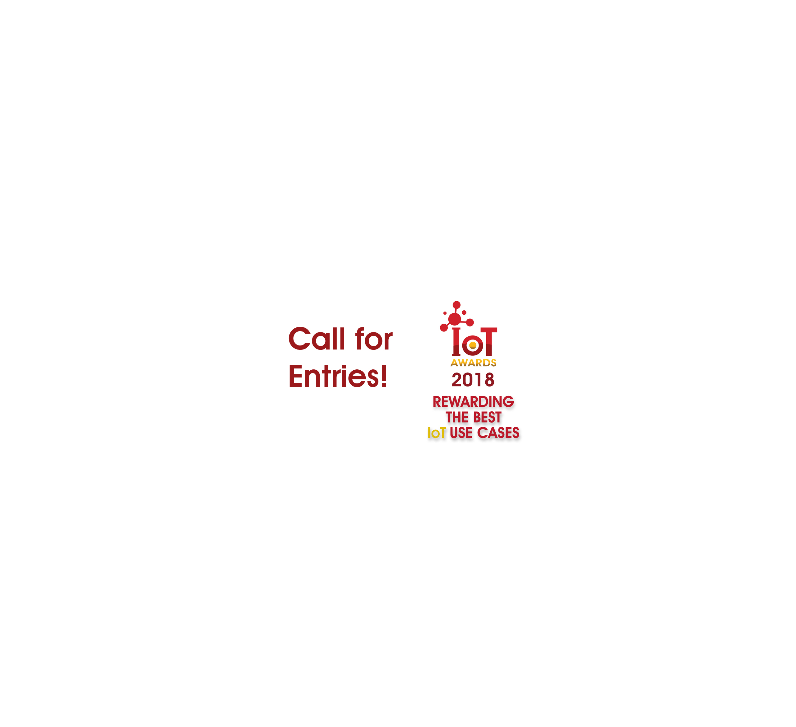 IoT Awards 2018 Call for Entries