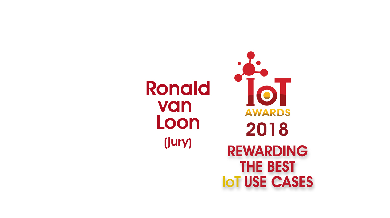 Ronald van Loon IoTAwards 2018 Jury