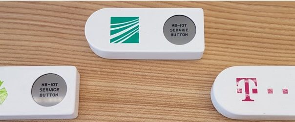 IoT service button T-Systems