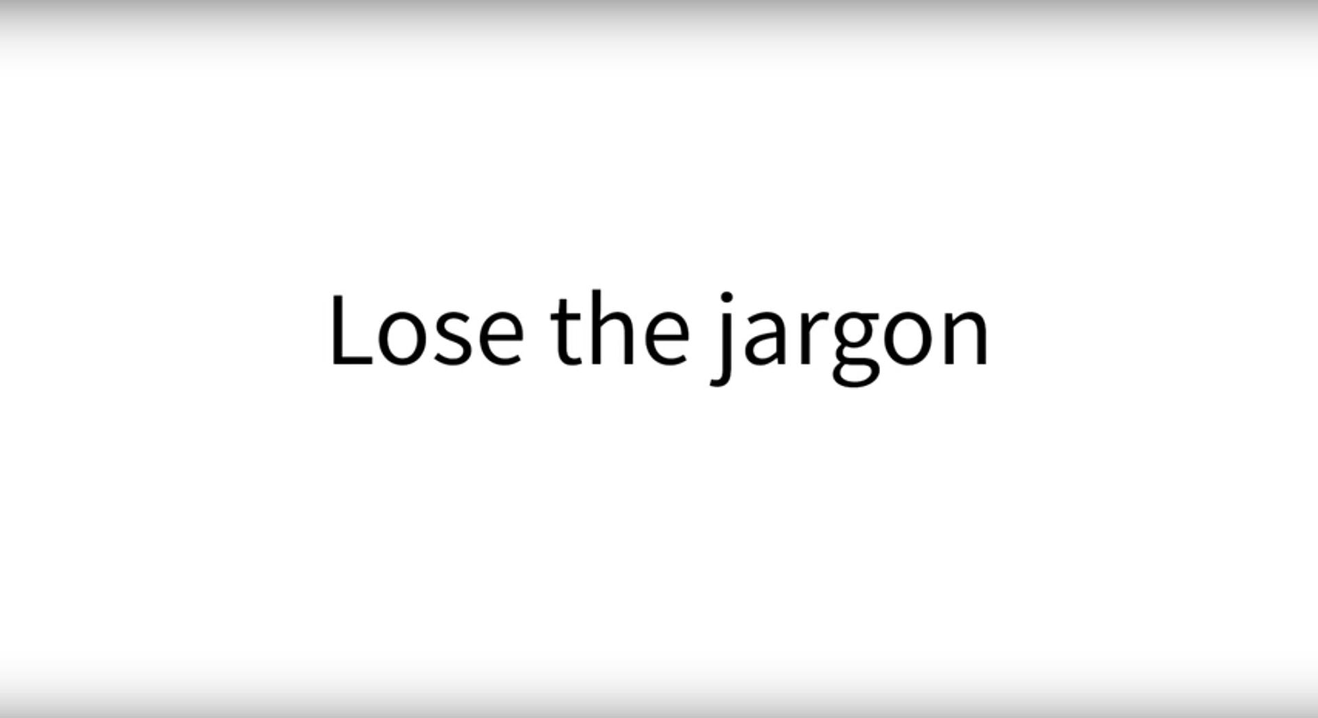 Lose the IoT jargon
